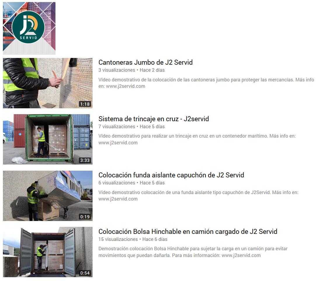 Canal de You Tube de J2 Servid